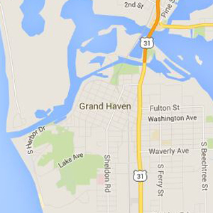 Map of Grand Haven